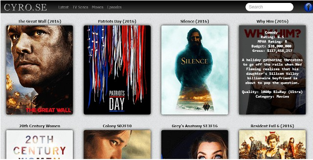 5 Best Sites Like CYRO.SE Movies