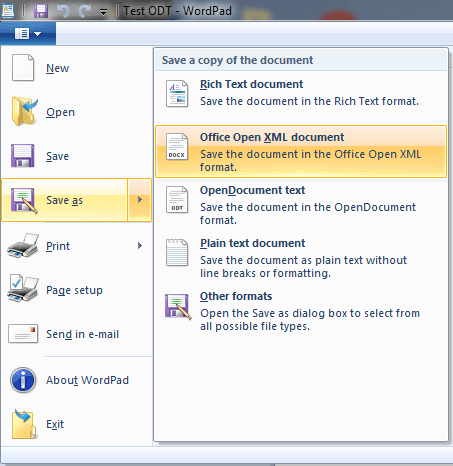 How To Convert Open Office Doc To Word