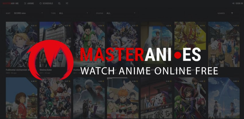 Masterani.me Alternatives 2020 | Watch HD Anime Online for free