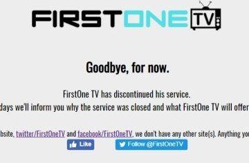 firstonetv goodbye