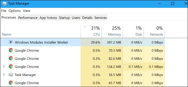Windows Modules Installer Worker High CPU Usage (Solution)