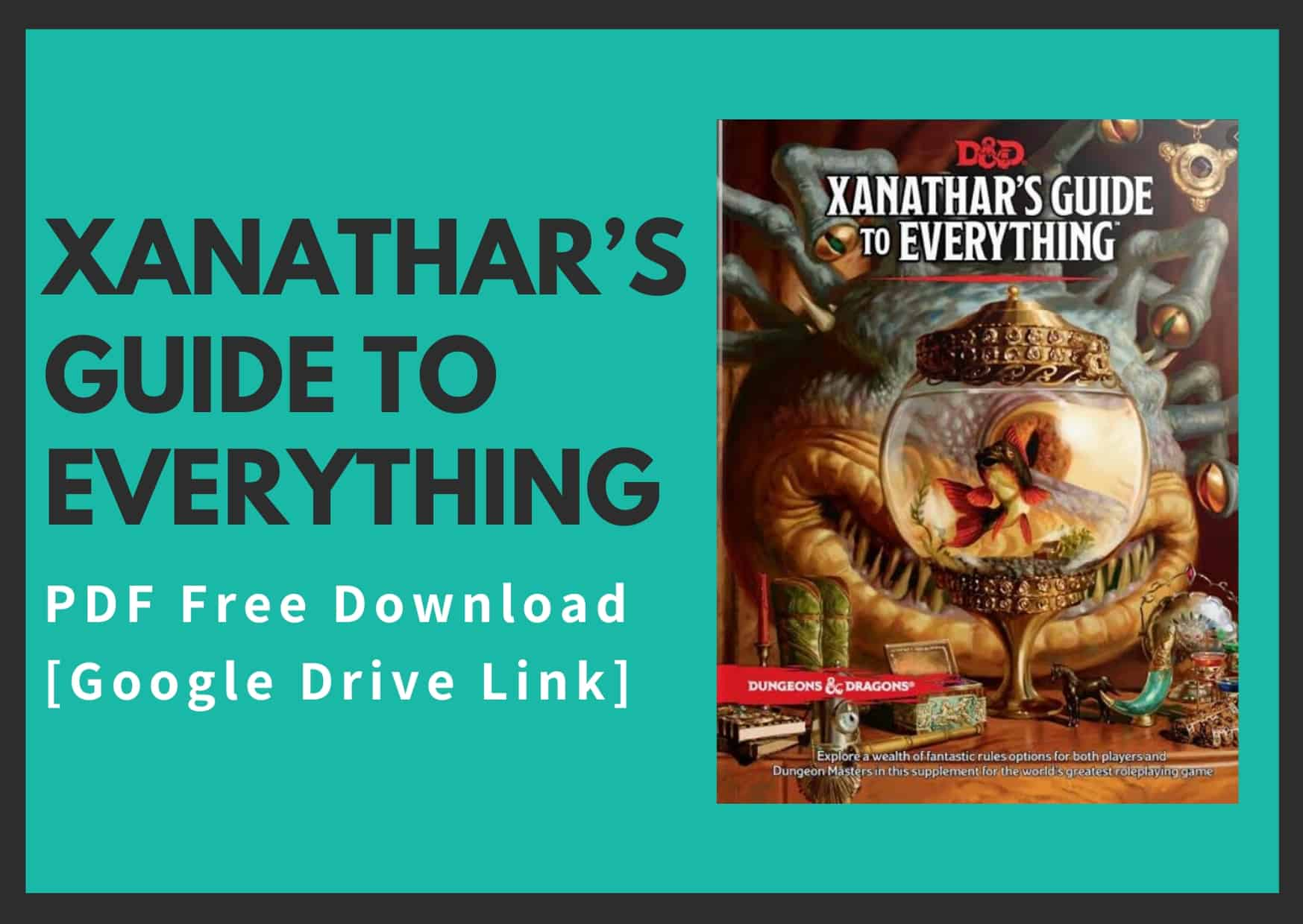 Xanathar's Guide To Everything 5e Pdf | Resume …
