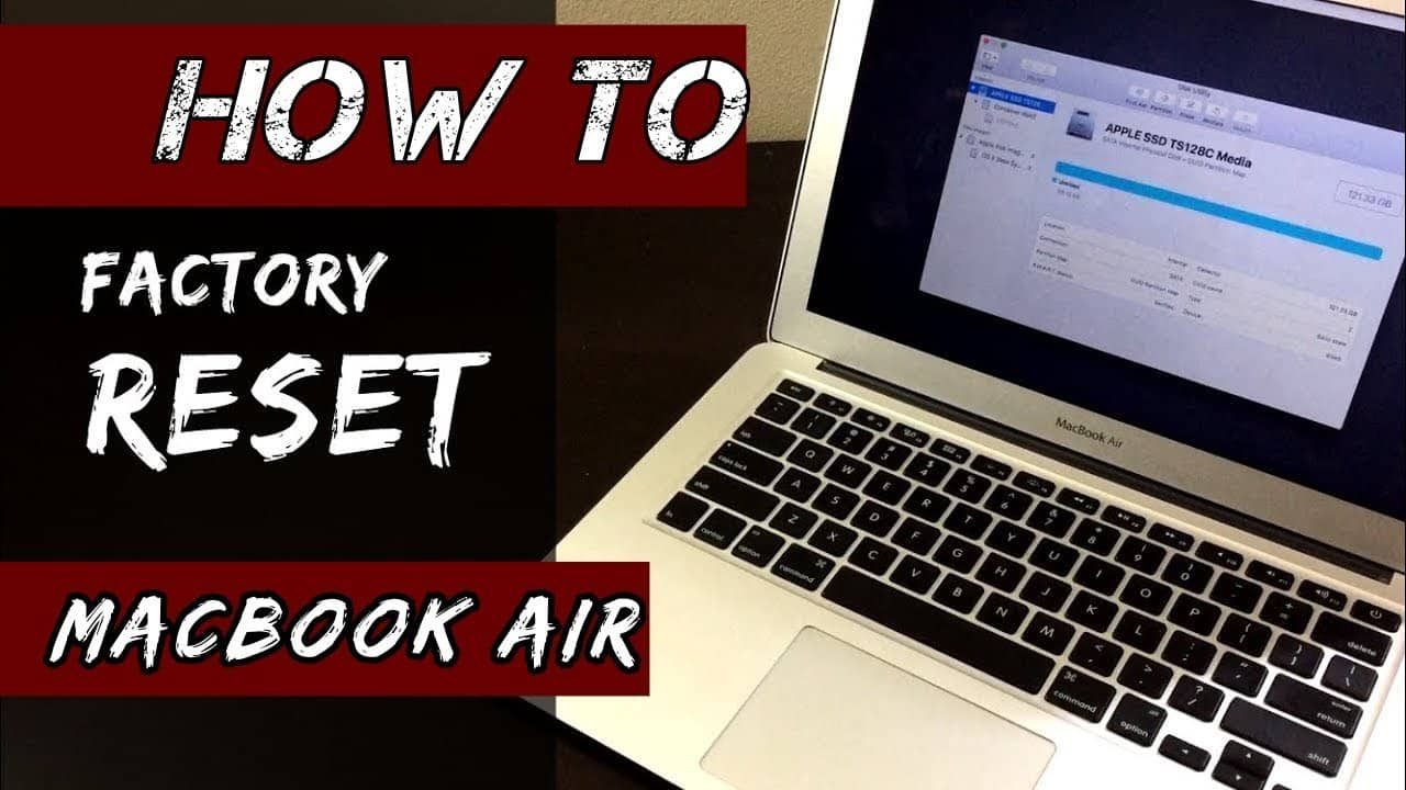 How to Factory Reset Macbook Air?
