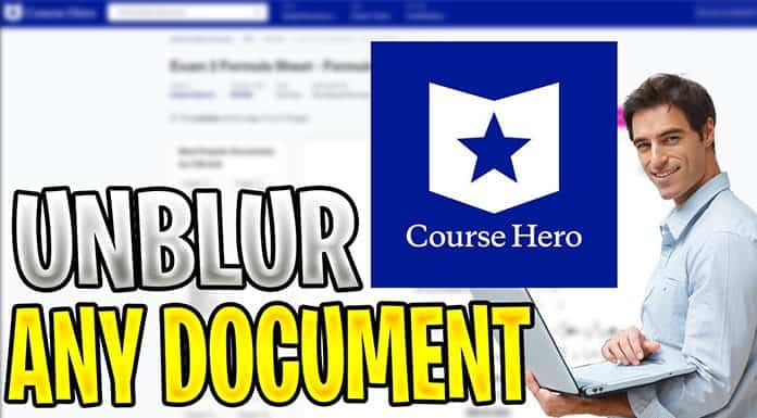 How To Unblur Course Hero Documents: A Step-by-Step Guide